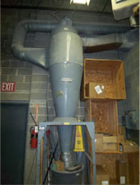 shaker baghouse dust collector